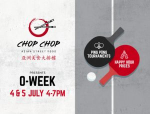 CHOP CHOP Presents O-Week