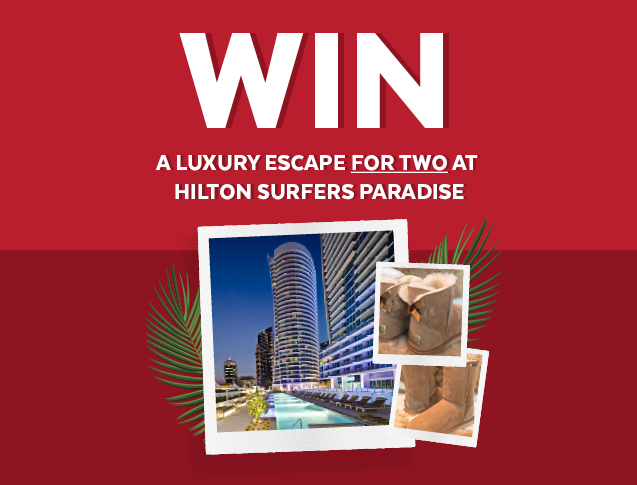 Win a luxury escape for two at Hilton Surfers Paradise