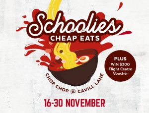 Schoolies Cheap Eats