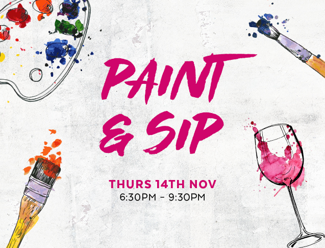 Chop Chop Paint and Sip